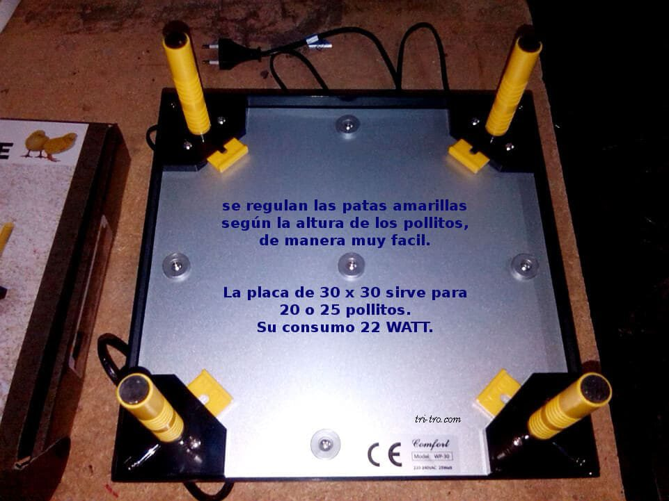 Placa base y soportes WP-30